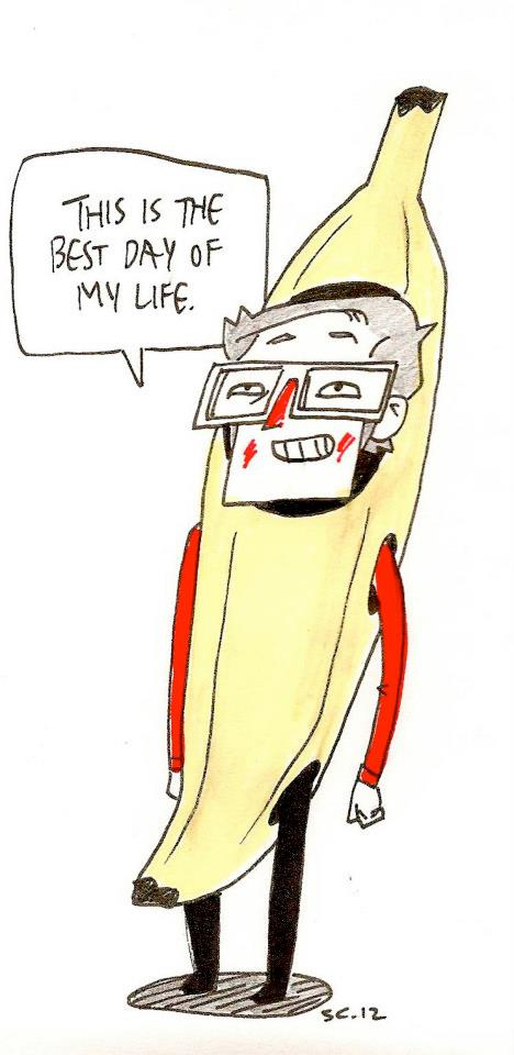 The True Story of the day I bought my Banana Costume
