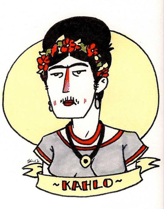 Frida Kahlo doodle
