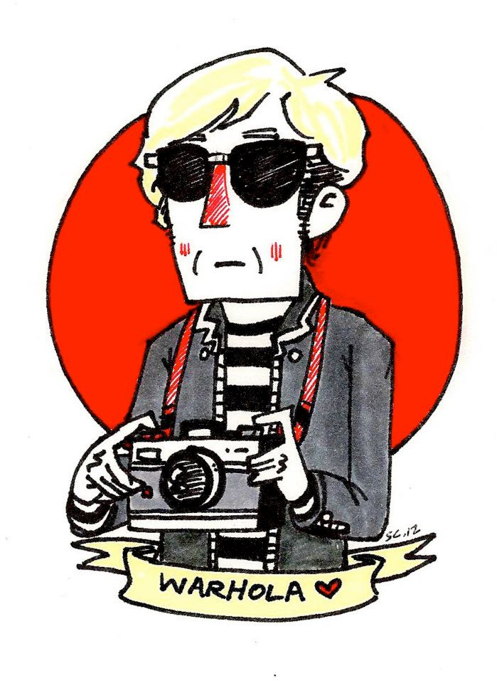 Andy Warhol Doodle