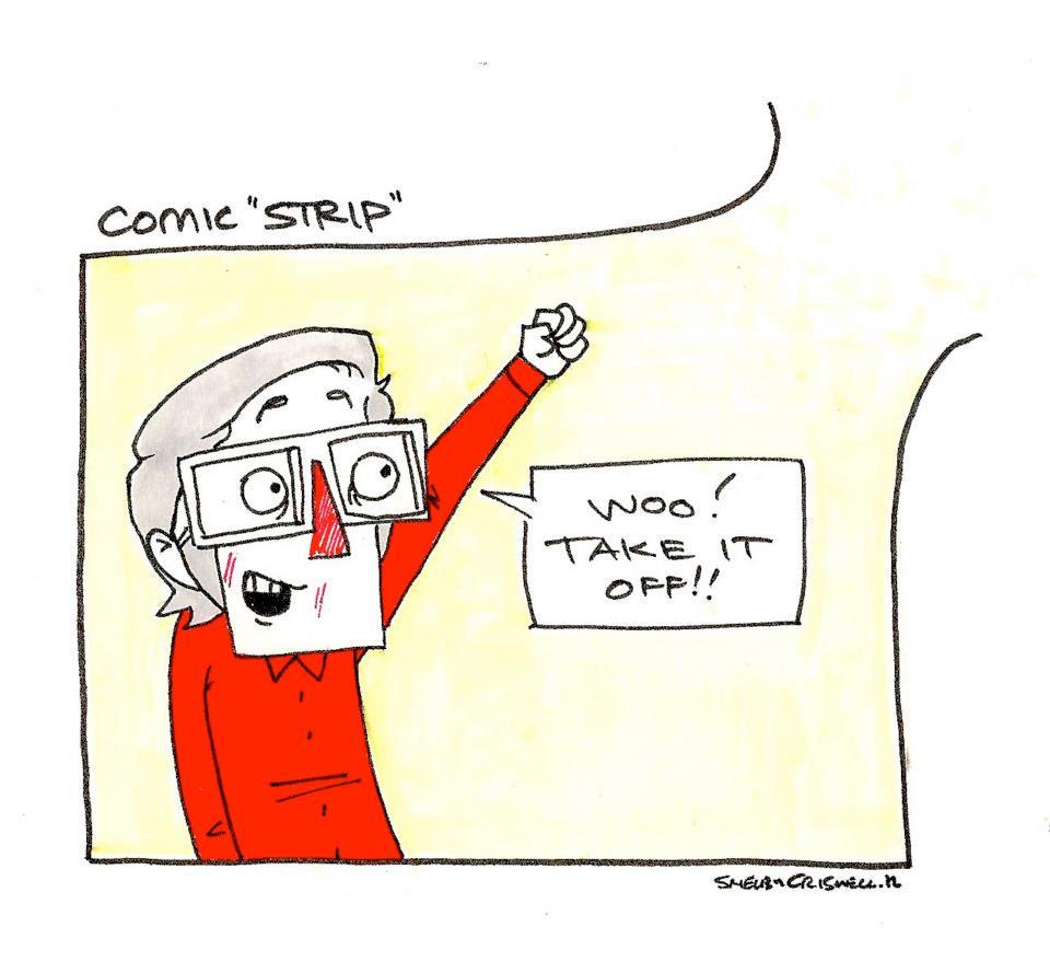 "Comic ""Strip"""