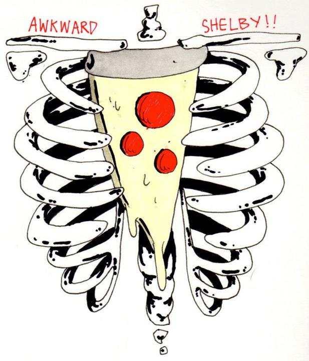 Cheesy Heart Logo