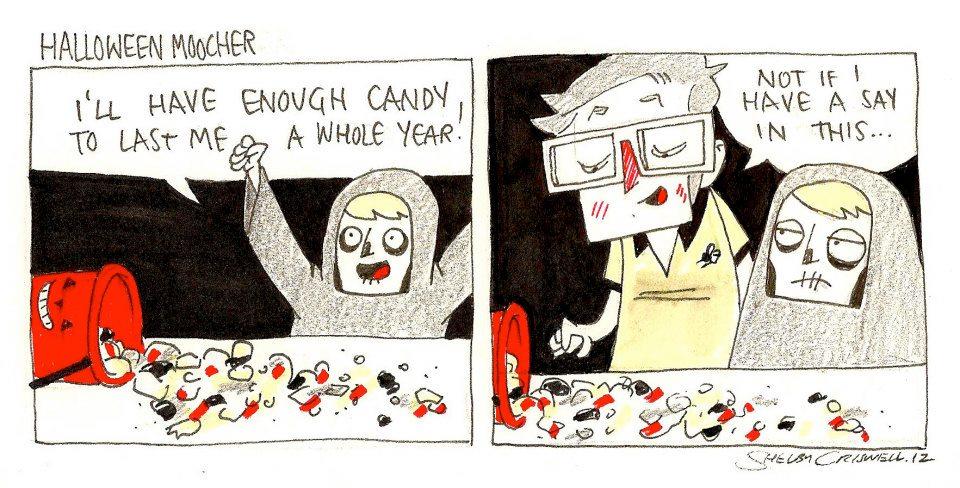 Halloween Moocher