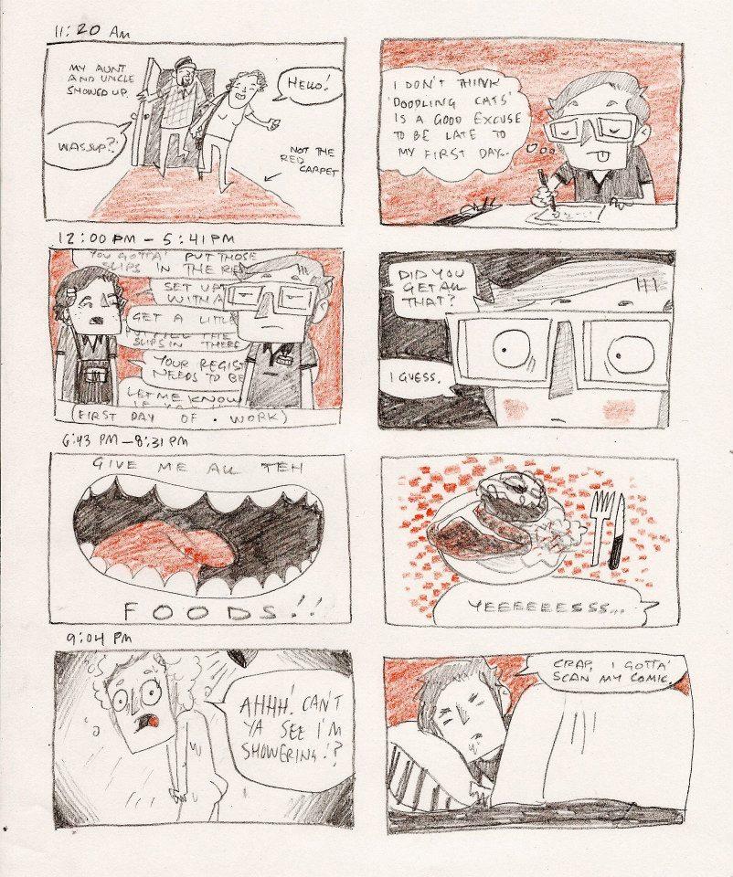 Hourly Comic Day 2