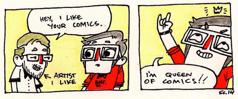 Queen of Comics