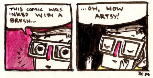 Brushed Comic