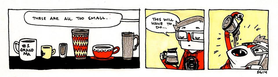 Coffee Sizes