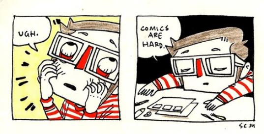 Comics Are Hard