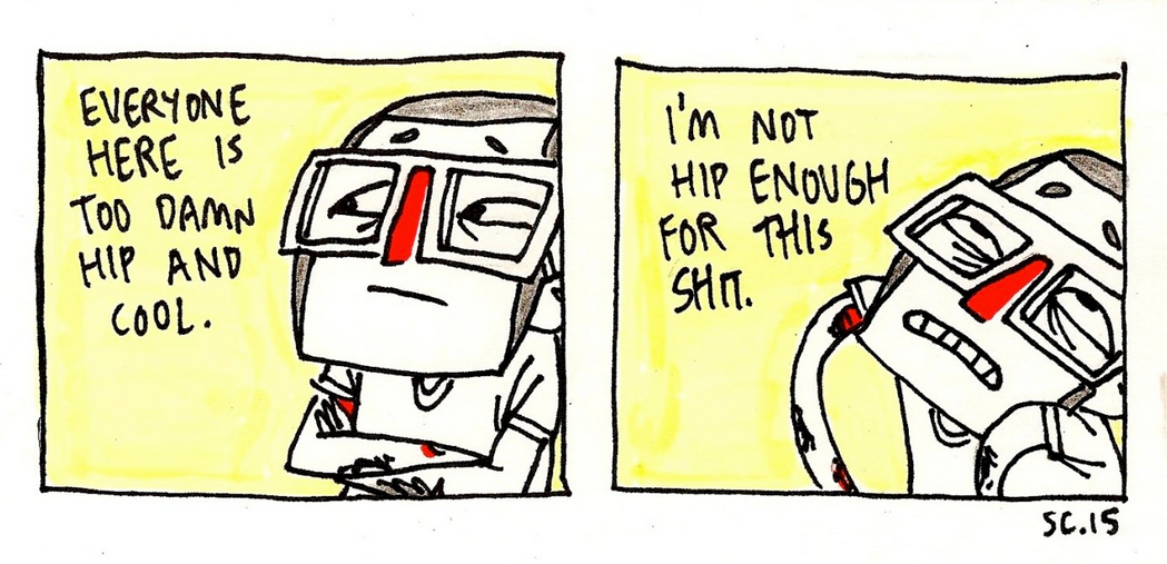 not hip enough
