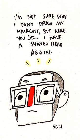 sad and bald